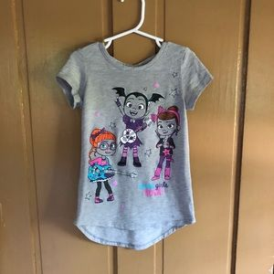 Little girl Vamperina short sleeve t-shirt.